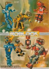 Parte trasea cajas Roblock