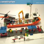 El barco oceanográfico llega al muelle