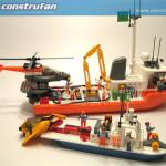 Comparativa de tamaño de los barcos
