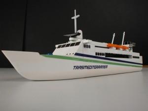 Ferry promocional de Transmediterránea