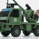 Camión anti-aéreo (Detalle vista lateral)
