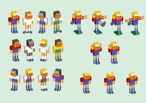 Personajes de la liga de fútbol