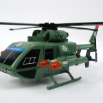 Helicóptero de ataque (Vista lateral)