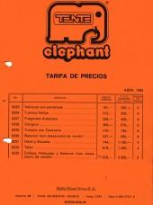 Precios Tente Elephant 1983