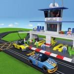 Circuito Scalextric-Construblock