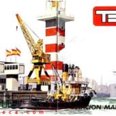 Estación marítima y remolcador
