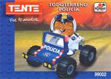 Todoterreno policía