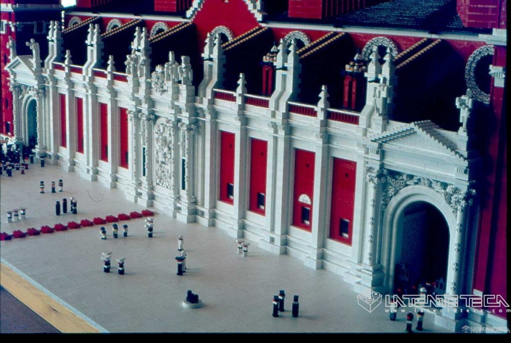 Fachada de la Basílica casi terminada