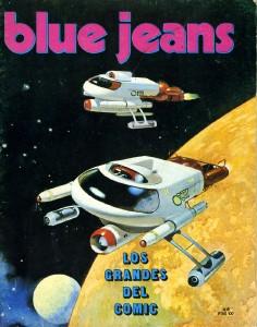 Portada del cómic Blue Jeans, nº 9 de Vicente Segrelles