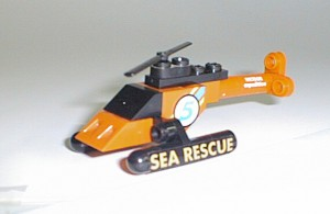 Mini-helicóptero Sea Rescue