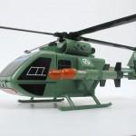 Helicóptero de ataque (Detalle vista lateral)