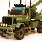 Tráiler transporta-blindados (Detalle tractora)
