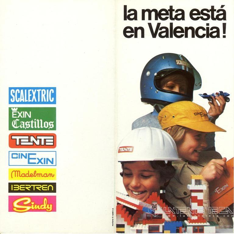 Díptico promocional de la 14ª Feria de Valencia