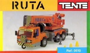 Camión grúa de la serie ruta de los 90