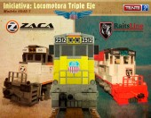 Locomotora de triple eje