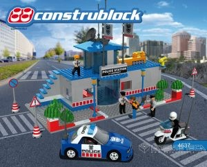 Construblock 4637 Police Station